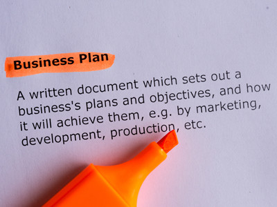 Yes – Prepare a Business Plan