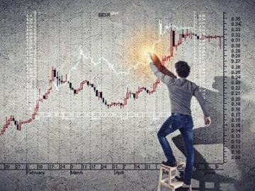 Business analysis charts.